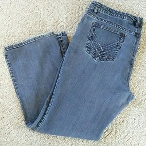Denim jeans with stretch